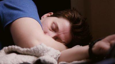 paleo autoimmune man sleeping
