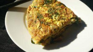 paleo egg fritter