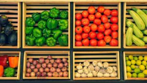 selection of foods for whole30